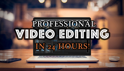 Edit your raw footage into an awesome and professional video