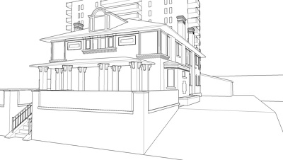 Create a 3d model in SketchUp of your house from photos