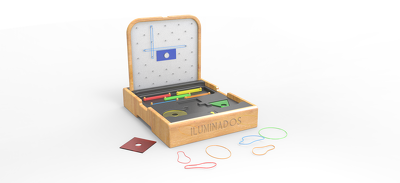 Design games or toys with 2D technical drawings and 3D images