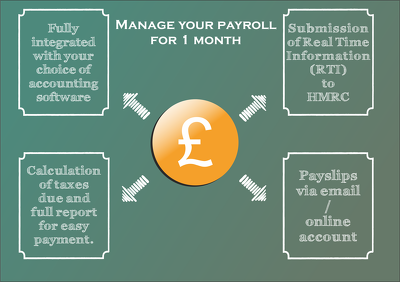 Manage your payroll for 1 month