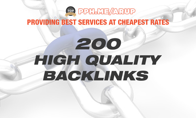 Do 200 Manual Backlinks, To Your Website