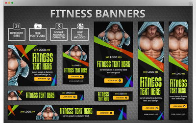 Design awesome banner, header, slider,fb ad and web graphics