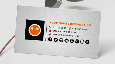 Design custom clickable html email signature