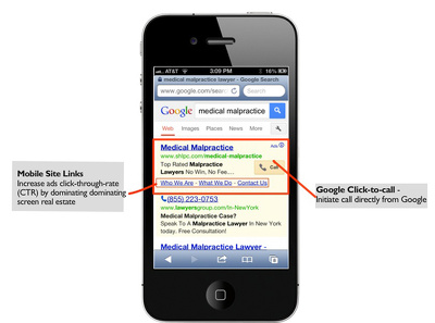 Create a text & mobile Google Adwords campaign