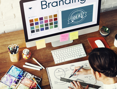 Design a high-quality logo based on your brand identity