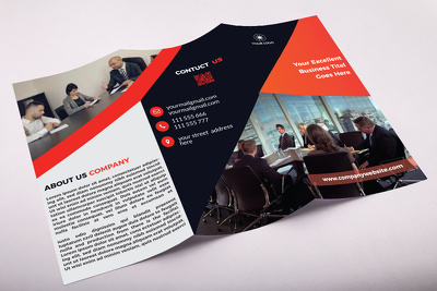 Design Professional Tri-Fold and Bi-Fold Brochure within 24 hour