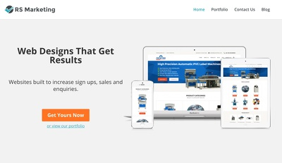 Build conversion-focused B2B Website (Fast & Mobile responsive)