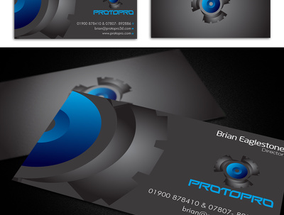 Design Business Card double sided with unlimited revisions