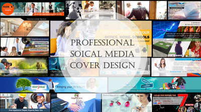 Professional Banner Design for any Social Media platform