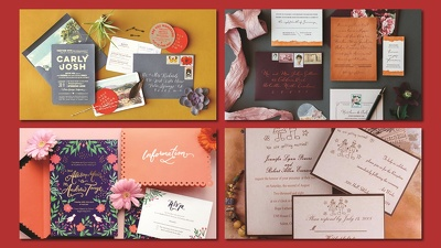 Design a beautiful wedding invitation
