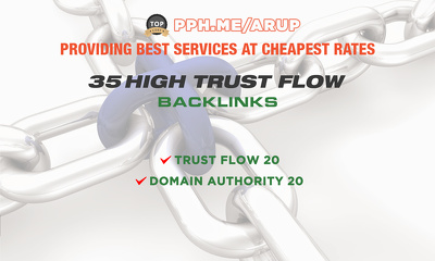 Do 35 High Trust Flow, Backlinks To Website