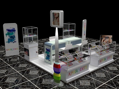 Create 3D booth or kiosk