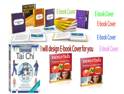 design a professional 3D Ebook Cover/Kindle Cover/Book Cover