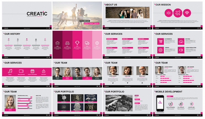 Create Startup Pitch Deck / PowerPoint Presentation