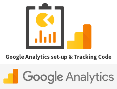 Set-up your Google Analytics and insert your Tracking Code