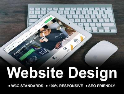 Design website Attractive, Responsive and SEO Friendly