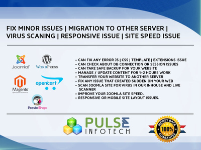 SOLVE ERROR | VIRUS | SPEED | MIGRATION | RESPONSIVE ISSUES