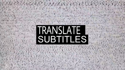 Translate subtitle 60 minutes of video from English to Spanish
