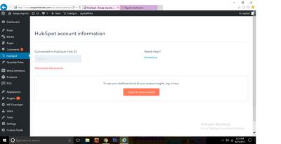Integrate Hubspot WordPress Mailchimp Getresponse