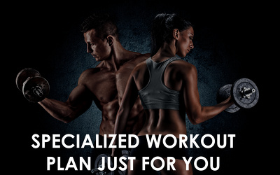Make a personalized workout plan for you