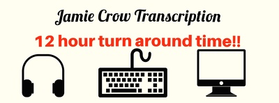 Transcribe audio recordings in 12 hours (up to 30 mins)