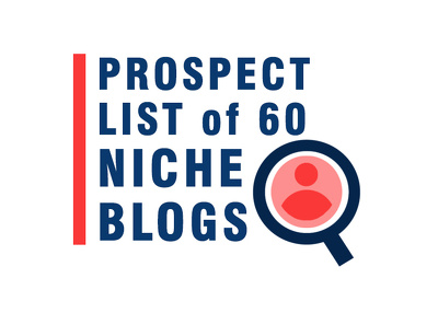 Prospect List of 60 Niche Blogs (for Link Building and Outreach)