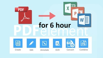 Do all type of PDF related work for 6 hours