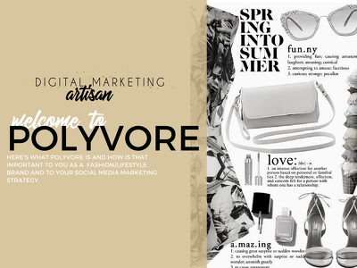Boost your fashion/beauty brand on Polyvore