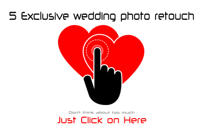 5 (Five) Exclusive Wedding Photo Retouch