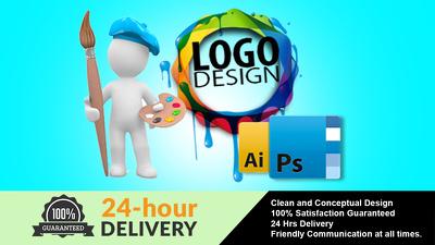 Professional Logo Design - Free Favicon - All Source Files