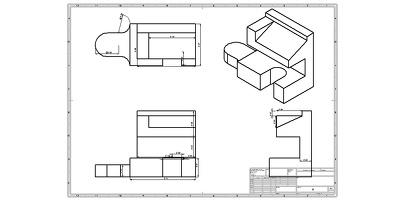 Create dimensioned drawing of an existing model on SolidWorks