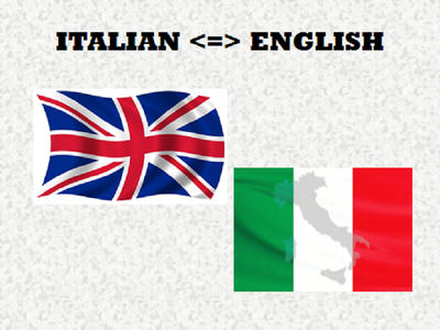 Translate a 600 words from Italian to English and vice-versa