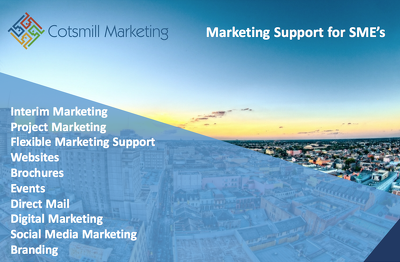 Provide marketing service & expertise to SMEs/startup businesses