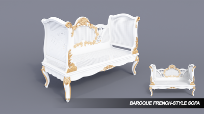 Create a baroque furniture design