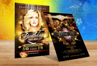 Design Stunning Event And Party Flyer