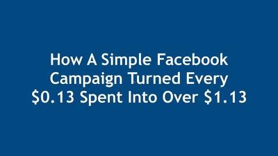 Create A Facebook Campaign