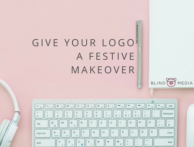Give your logo a festive makeover!