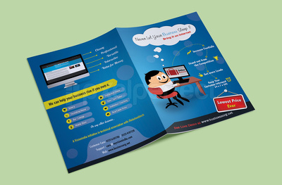 Design double-sided flyer/postcard/leaflet/brochure/invitation