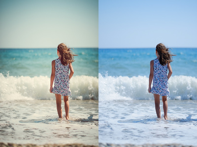 Create cinematic edit for 2 photos of your choice