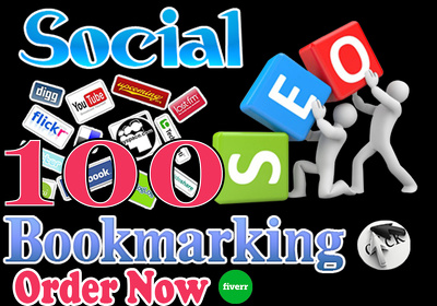 Do 100 Manual Social Bookmarking With High PR Quality