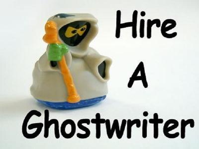 Ghostwrite, edit or re-write 3000 words e-book, book or novel