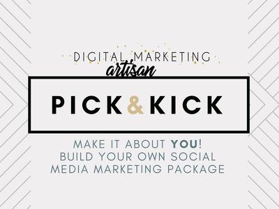 "Be your Social Media Creative Coordinator ►""PICK&KICK"" pack"