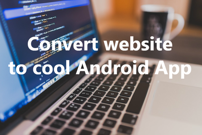 Convert your website to Android webview App