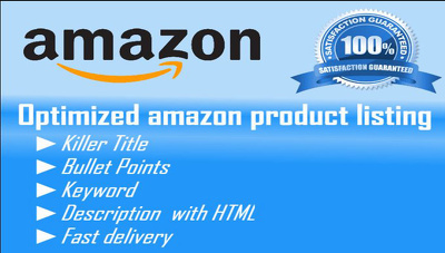 SEO Optimized Amazon Product Listing  Optimization Specialist