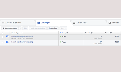 Create lead based facebook ad promotions for your business