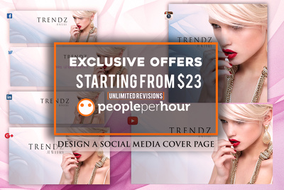 Design timeline cover page for any SOCIAL MEDIA SITES