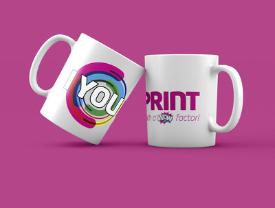 Design Mug & do Sublimation Heat Print