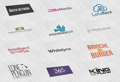 Create a modern and classic logo for your brand in 15 hours
