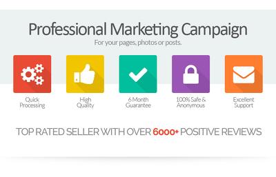 1000 Social Media Promotion