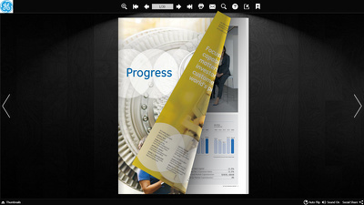 Make an interactive flip book of your .pdf file